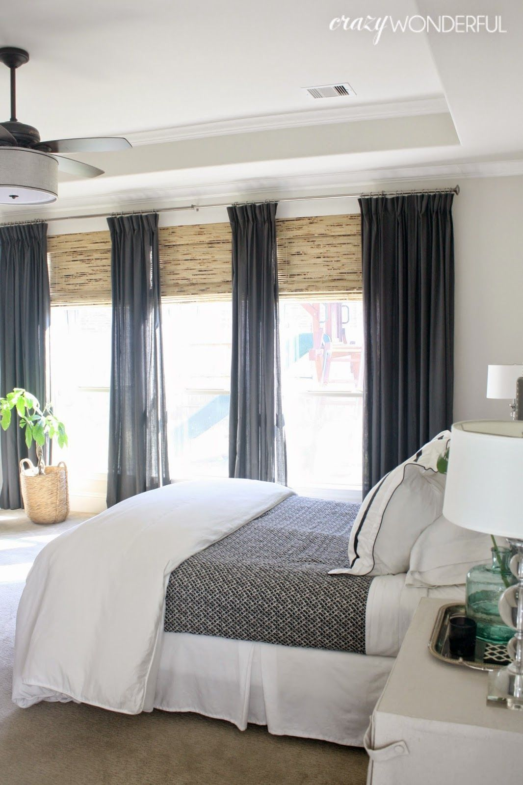 Master bedroom curtains  my bedroom  bedrooms  Pinterest  Master bedroom Decorating and