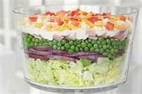 Overnight Layered Salad - Bing Images
