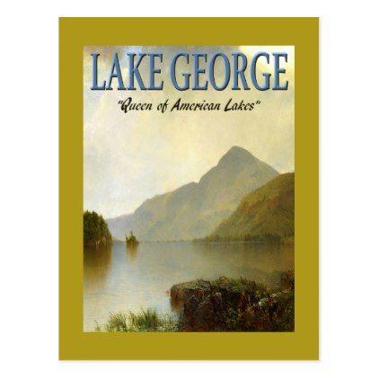 posters lake customizable vintage