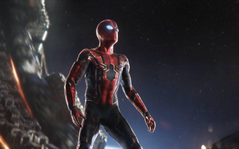 Wallpaper Iron Suit Spider Man New Suit Avengers Infinity War In 2020 Iron Spider Marvel Marvel Avengers Bedroom