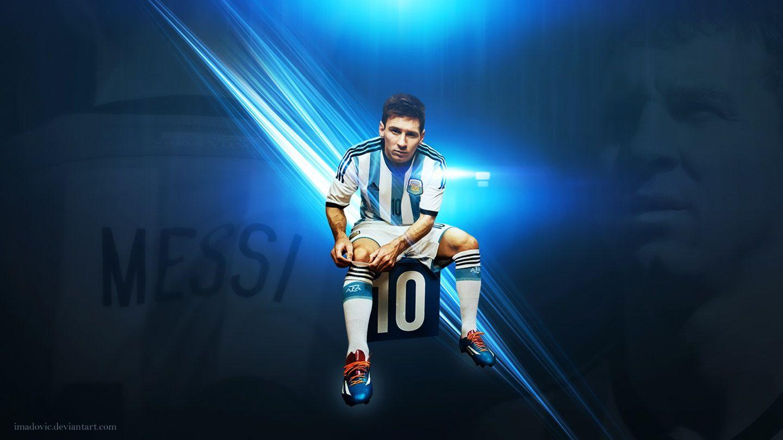 Lionel Messi Hd Wallpaper By Mrb Gaming Hd Desktop Wallpaper Fifa