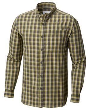 cf47469437a Columbia Men's Long-Sleeve Plaid Shirt - Black L in 2018 | Products ...