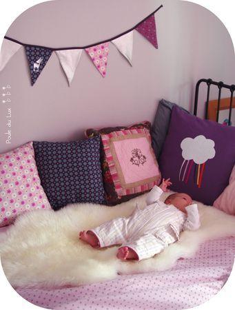 Chambre fille Chambre Bébé décoration Nursery garçon fille baby