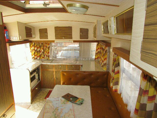1976 adelma caravan interior so 70s what a classic for Interior caravan designs