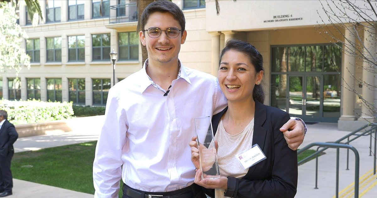 Young winners of this year's Stanford Longevity Design Challenge went straight to would-be users for inspiration.