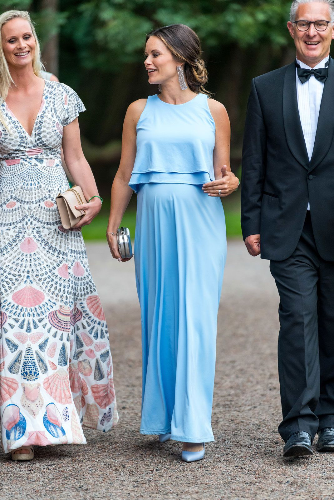 Princess Sofia of Sweden arrives for a charity party in support of ...
