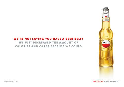 Amstel Light Beer Advertisement Beer Beer Humor