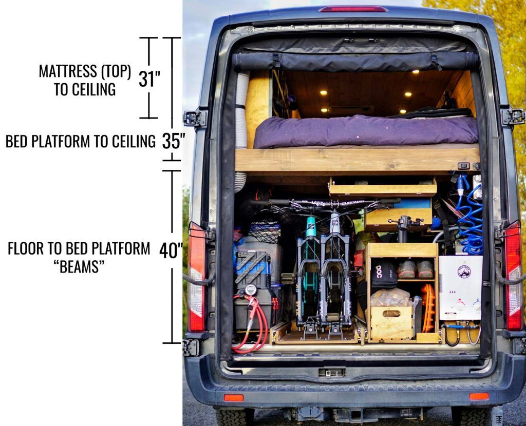 Photo of Slide-Out Bike Rack Storage for Van: How-To DIY Build | FarOutRide