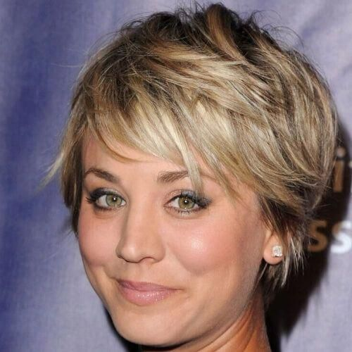 Short Shaggy Haircuts For Round Faces Shorthairstyles Short