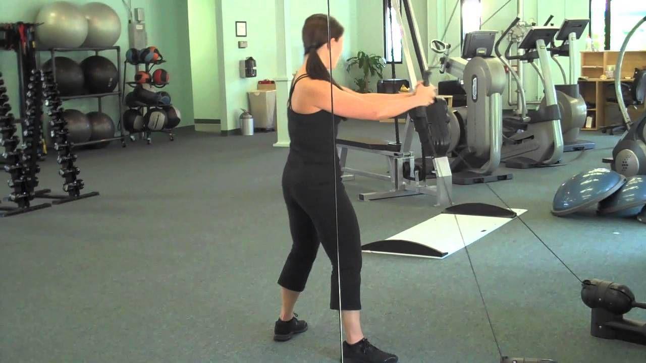 Amy's AllinOne Kinesis Workout Wall workout, Workout
