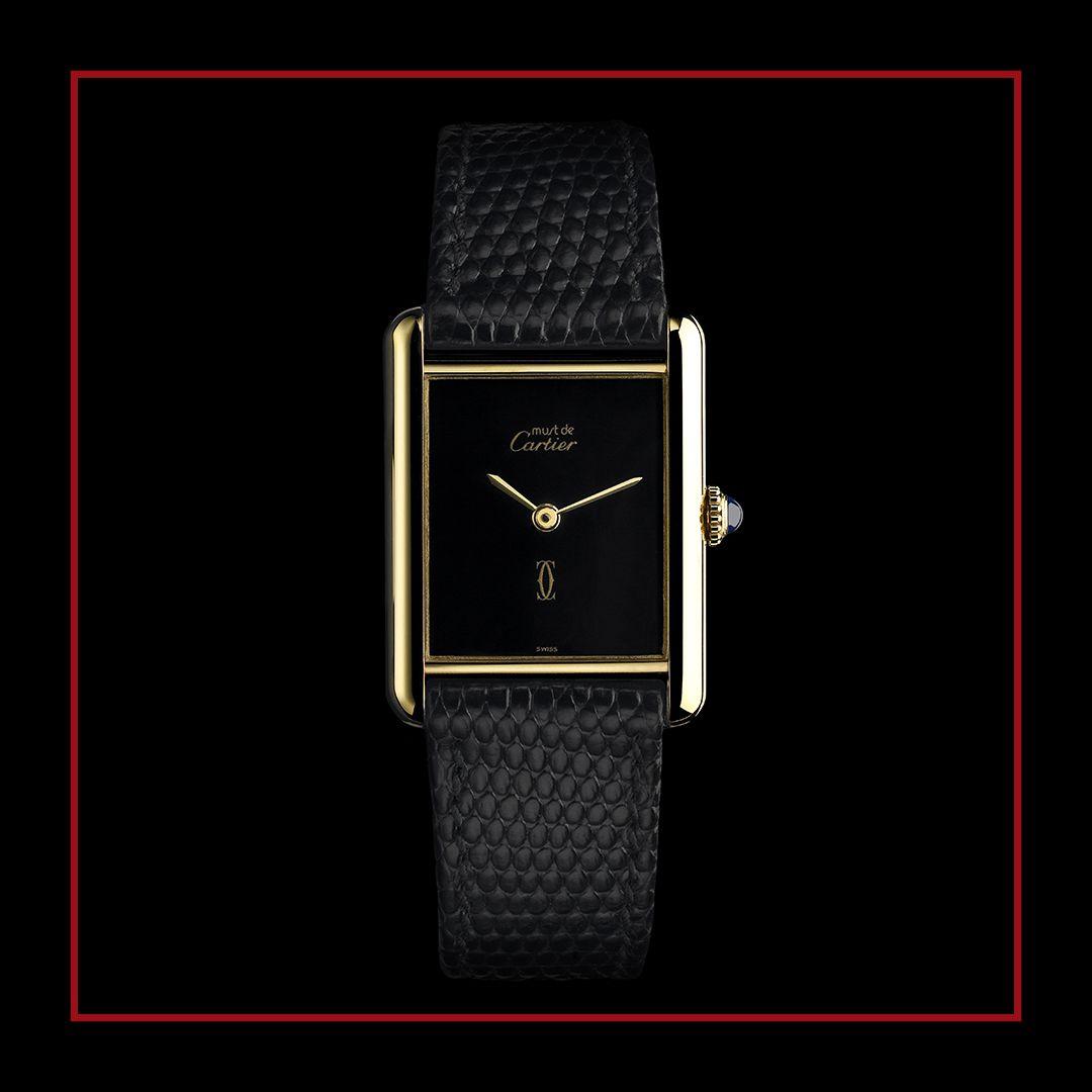 Cartier Must De Cartier Wrist Watch 351884 Collector Square
