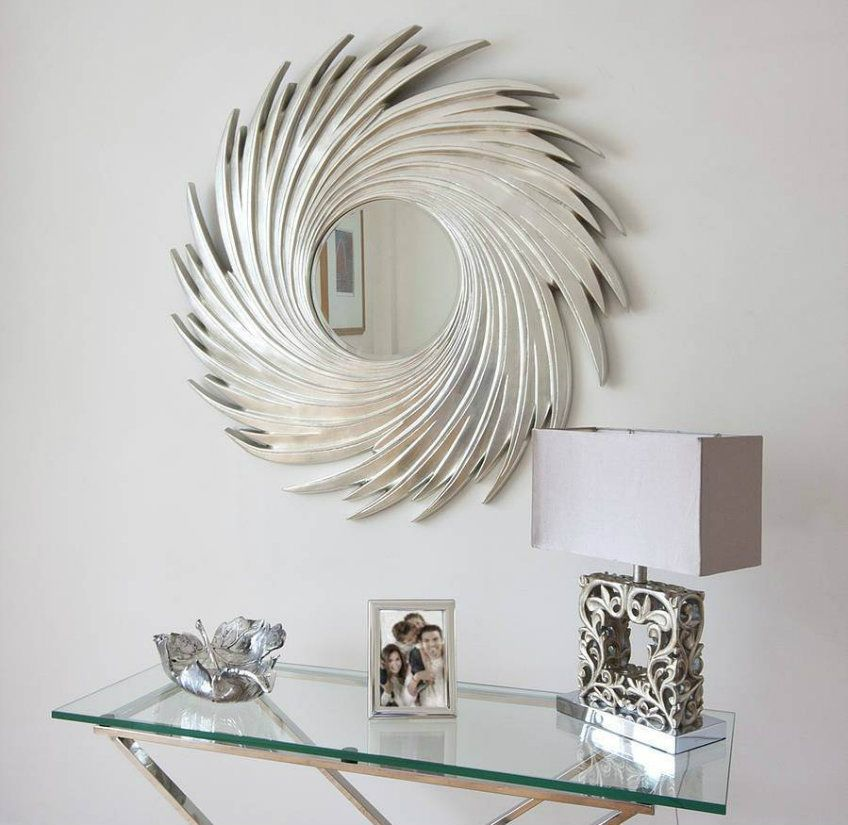 Improve Your Interiors With These Splendorous Silver Mirrors