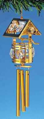 24 K Gold Plated Wind Chime Wishing Well