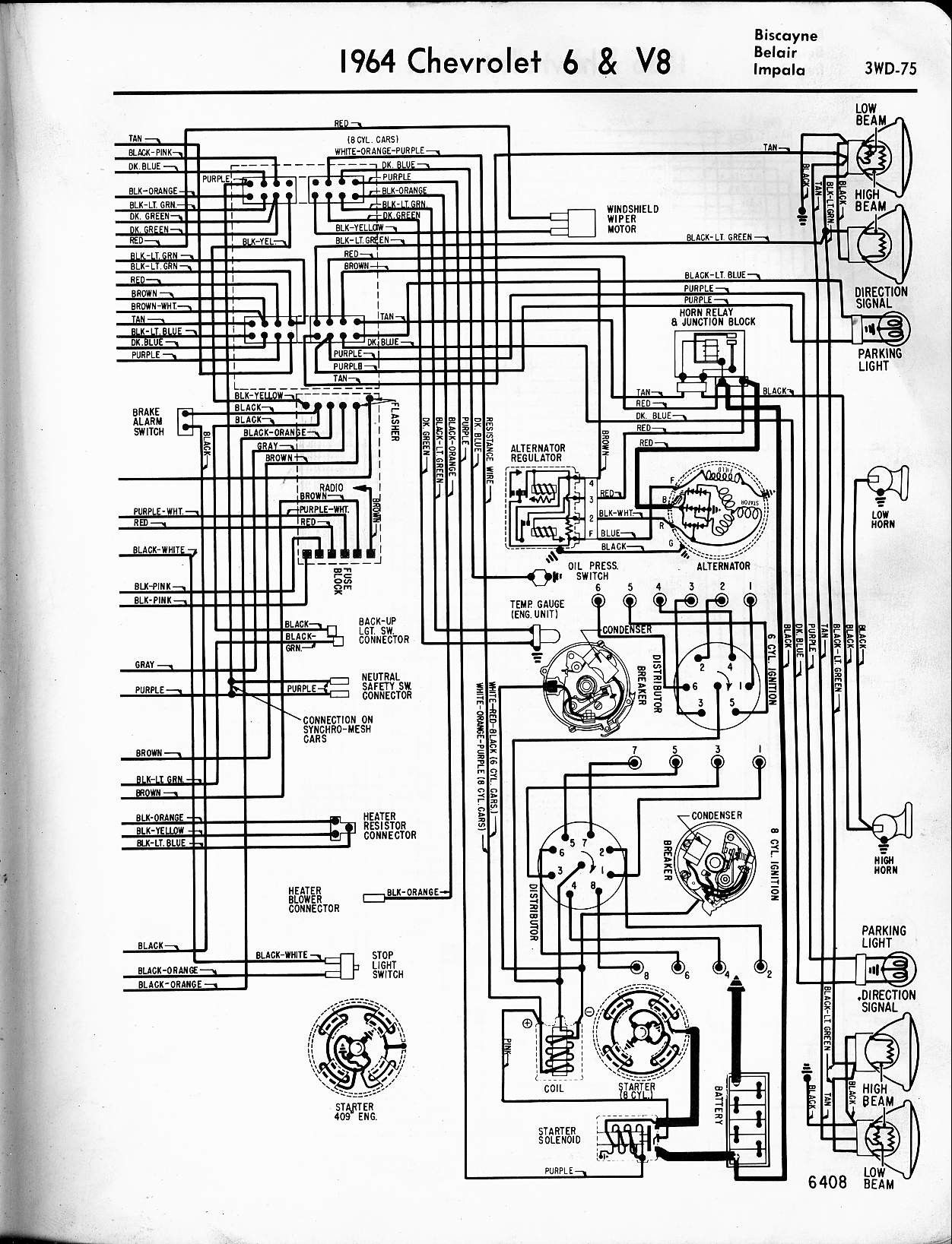 1964 Gmc Truck Electrical System Wiring Diagram Schematic Free Schematics Chevy Trucks 1963 Chevy Truck Electrical Diagram