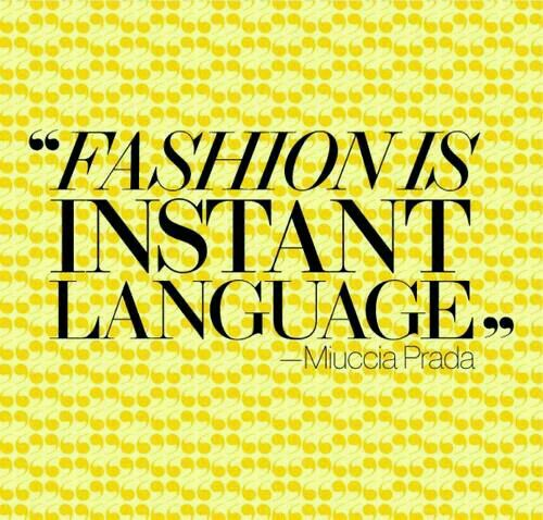 Fashion is.......Instant.......