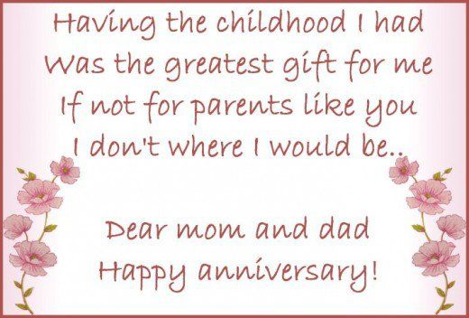Wedding Anniversary Wishes For Parents Are Here To Wish Parents On