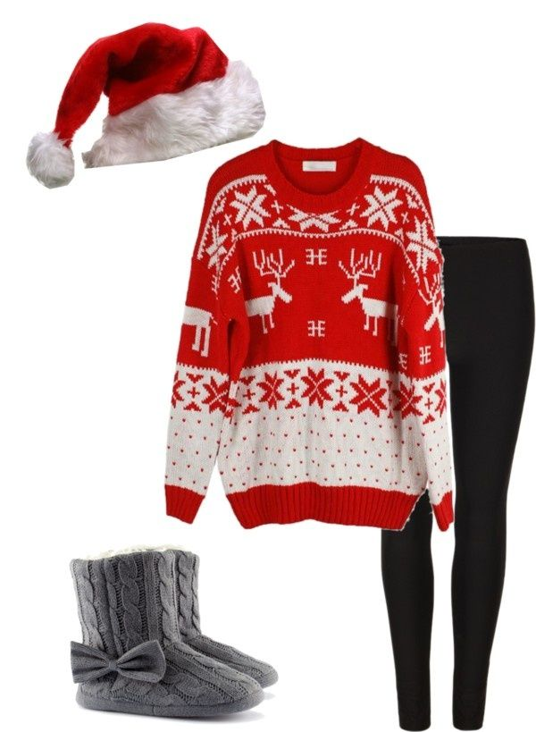 cute christmas outfits polyvore - Google Search - Cute Christmas Outfits Polyvore - Google Search Fashion Sweaters