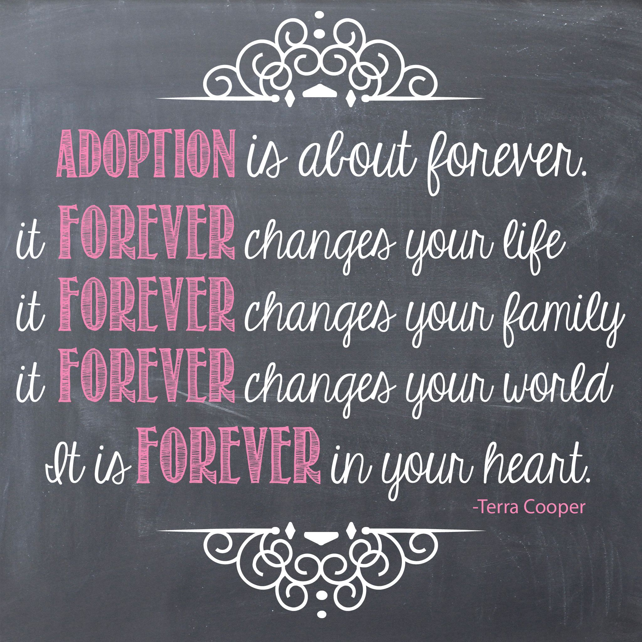 Adoption: Birth Mother Quote By Terra Cooper #openadoption