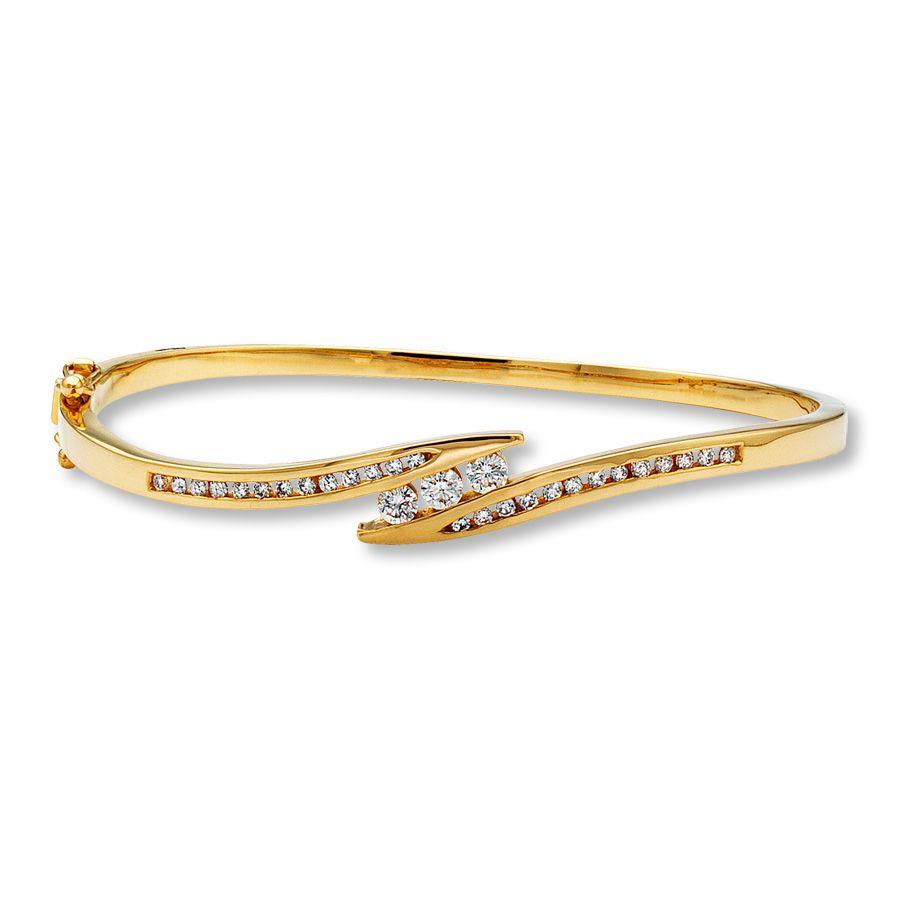 Diamond Bangle Bracelet Penelusuran Google De Diamant Bracelets Jonc Selena