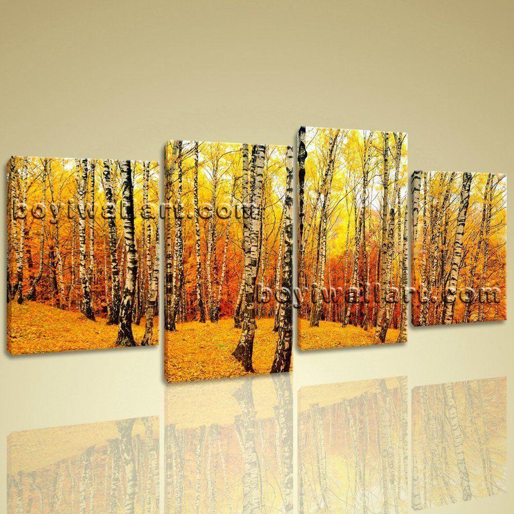 Contemporary home decor xxl large wall art canvas print landscape