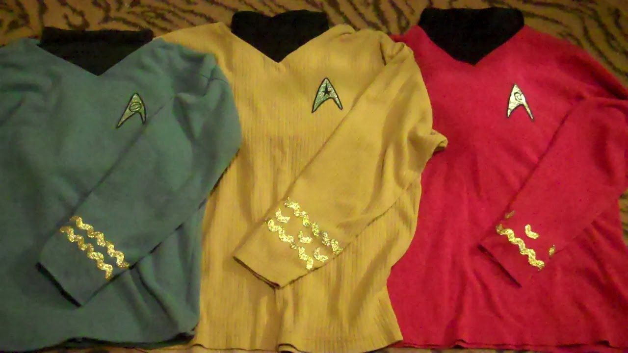 Diy Cheap And Easy Star Trek Costumes Tos Star Trek Costume Star Trek Party Star Trek Halloween Costume