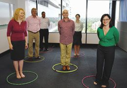office games can prove to be great team building activity for your organization lets have a look at a some of the easy minute to win it office games in