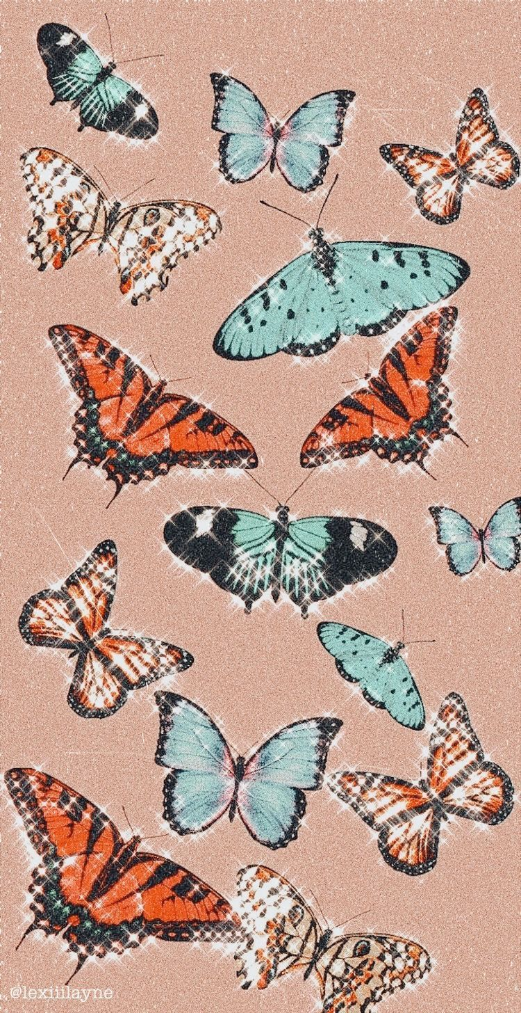 Pin on Fond d'écran iphone in 2020 Butterfly wallpaper