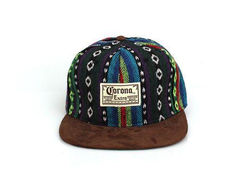 d4722c0d0 Snapback Corona Extra Hat Cap Adjustable Flat Visor 6 Panels Stripe ...
