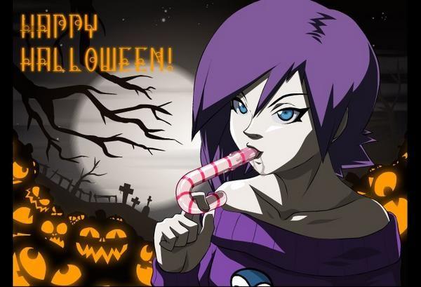 Happy Halloween Zone Tan Sama
