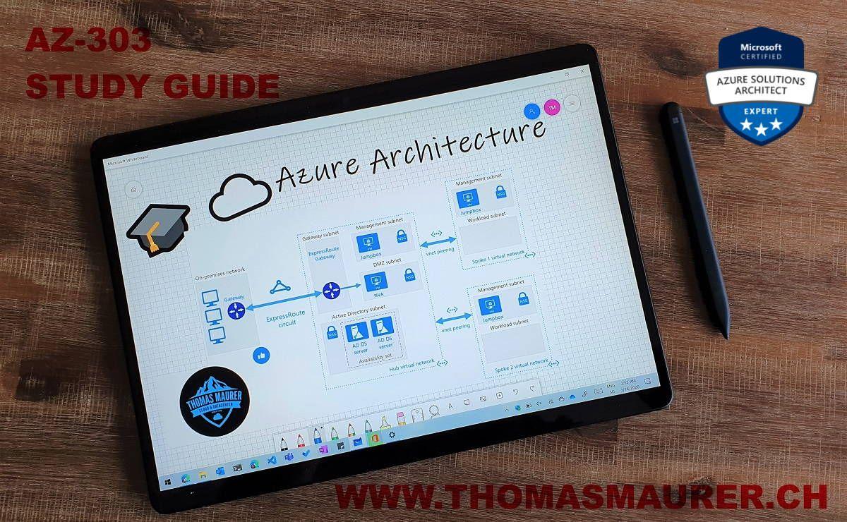 AZ303 Study Guide Azure Architect Technologies in 2020