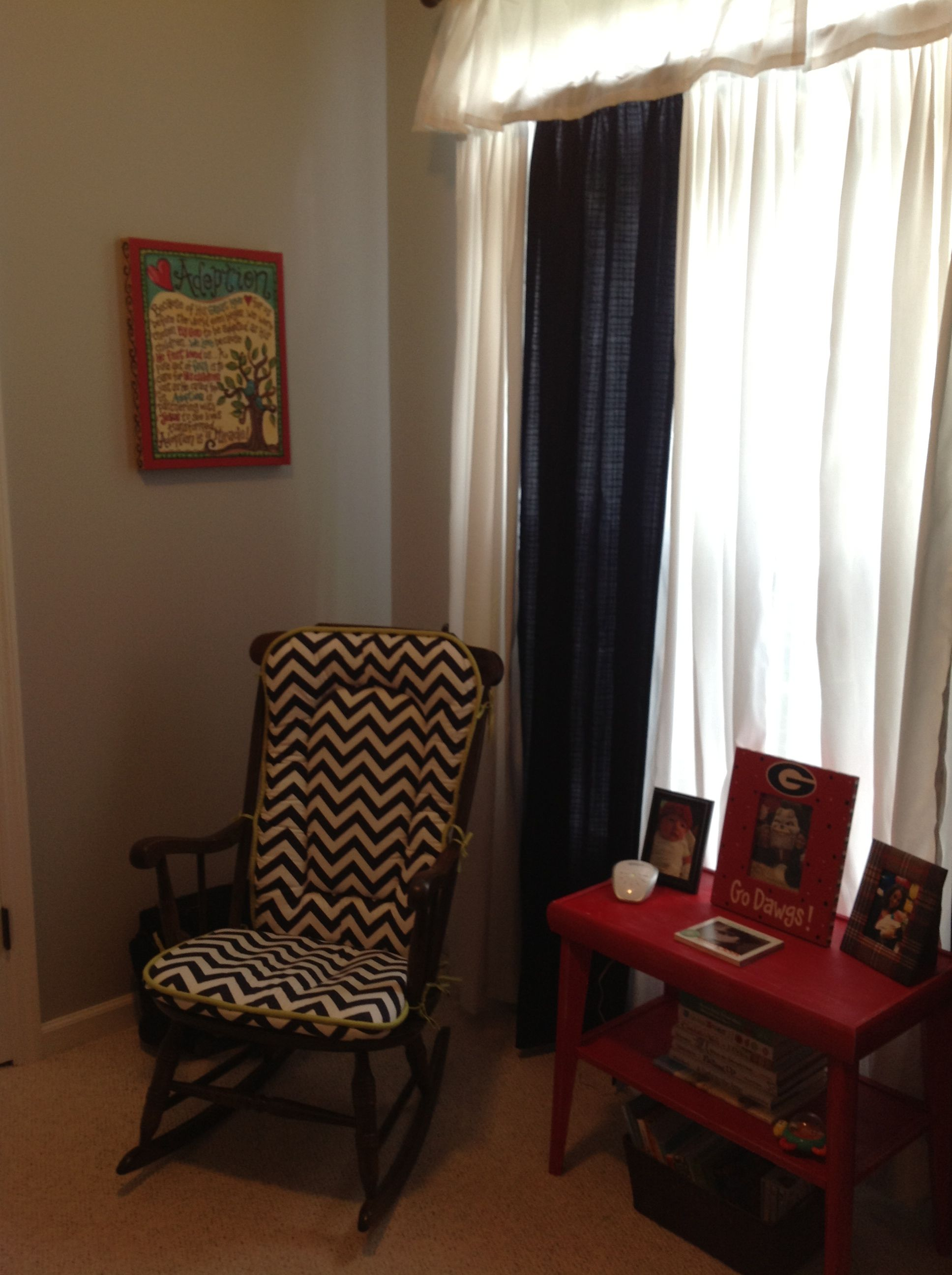 Rocking chair cushion (With images) Rocking chair