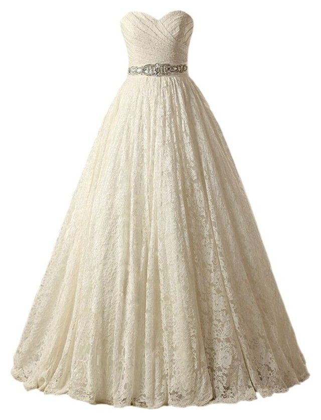 Dream By Mslm On Polyvore Princess Wedding Dressesball