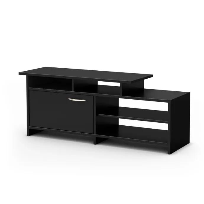 Meubles South Shore Meuble Tele Meubles Rd Home Entertainment Furniture Black Tv Cabinet Tv Stand Wood