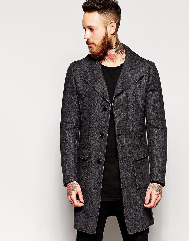 Sisley Herren Coat Jacket