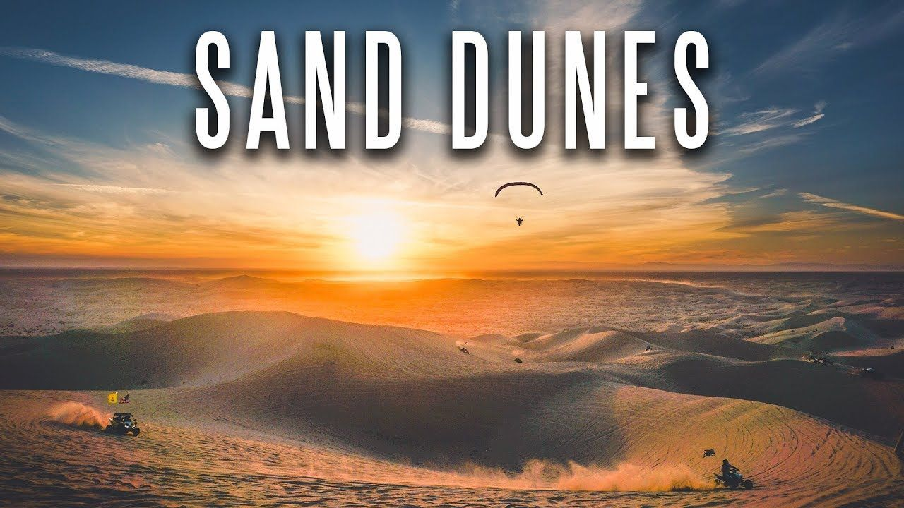 Highly visiting the sand dunes in southern