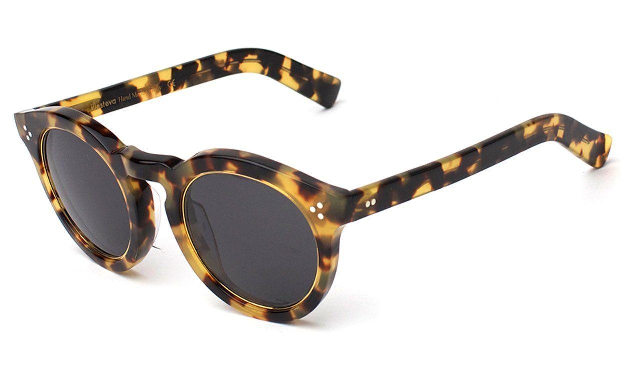 Leonard ii ring sunglasses tortoise sunglasses metal