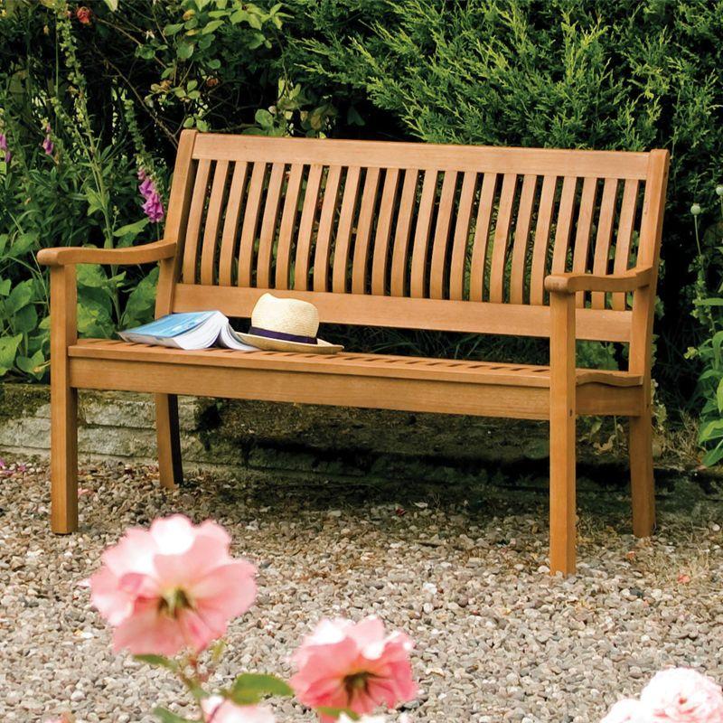 Rowlinson Willington Bench - Dobbies Garden Centres   Garden Ideas ...