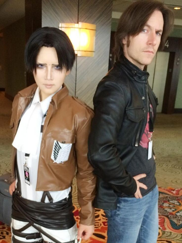 Matthew Mercer The Voice Of Levi From Attack On Titan Dubbed And