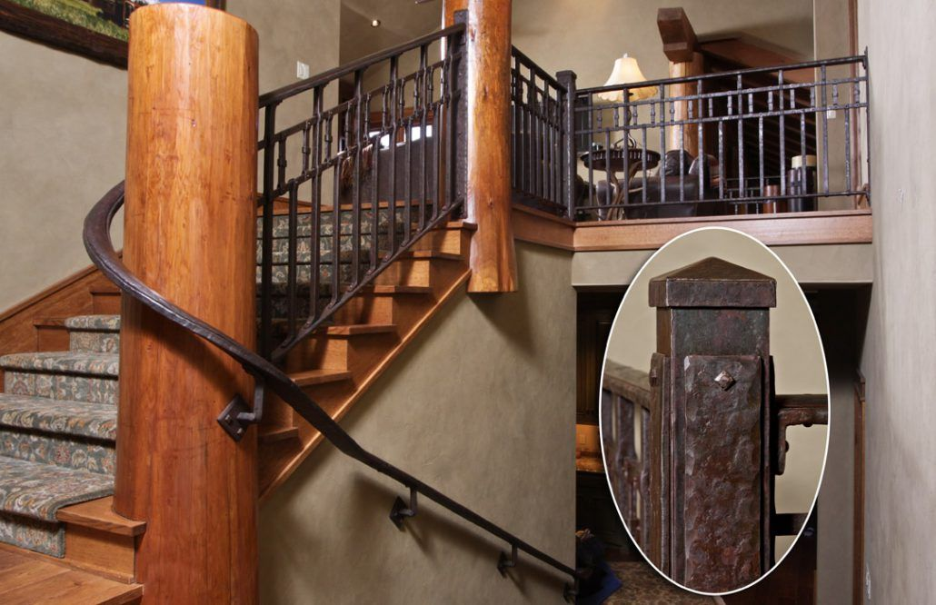 Best Railings And Handrail Custom Designed And Forged Of Steel 640 x 480
