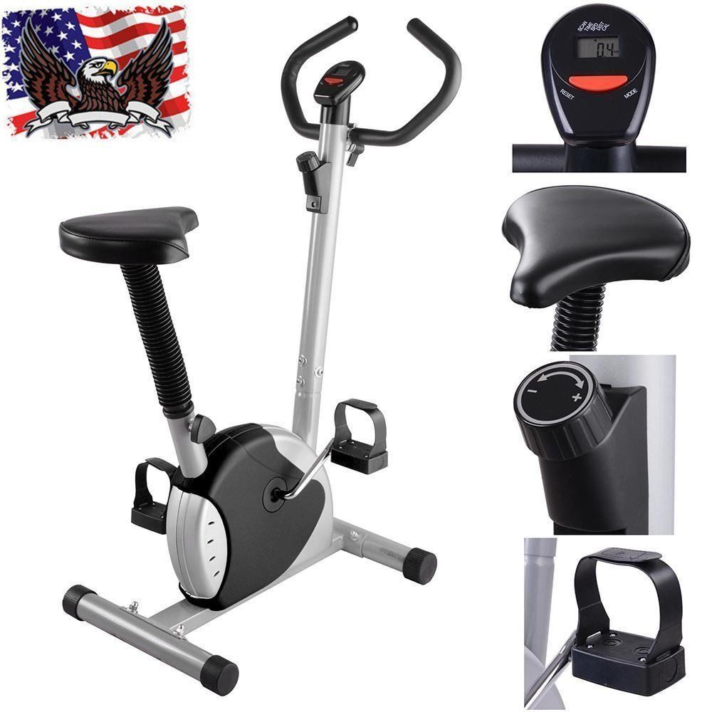 Exercise Bike Cardio Fitness Cycling Machine Gym Workout Training