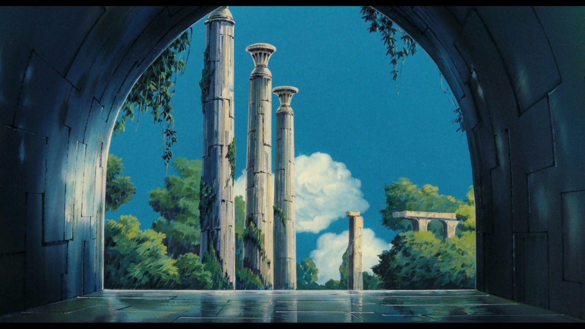 Movie Laputa Castle In The Sky Wallpaper Castle In The Sky Sky