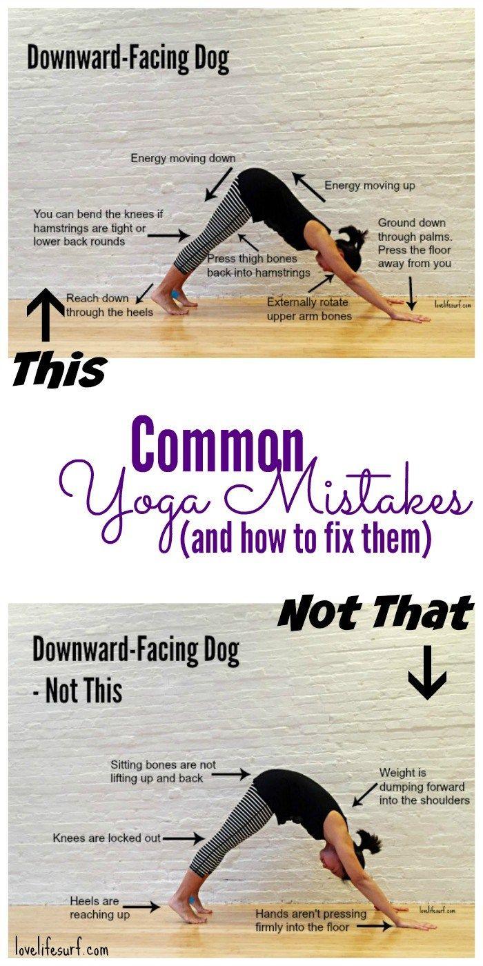 Downward Facing Dog Wrong