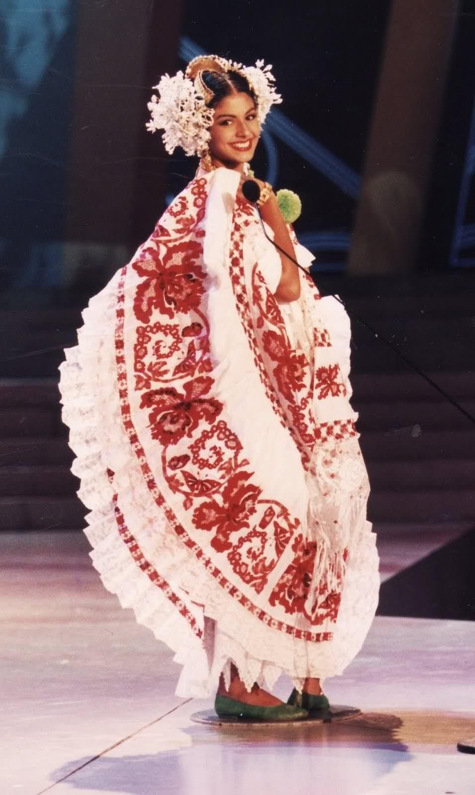 Recordando los Trajes Típicos de Panama - Reinas de Belleza Interna ...