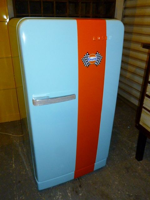 Coca Cola Fridge >> frigo vintage BOSCH GULF | creation brocantetendance meuble industriel en 2019 | Living room ...
