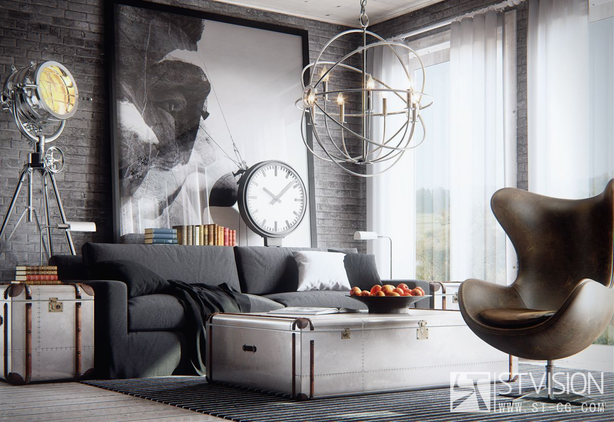 Awesome 3d Interior Renderings: Created By Cloves Using 3dsmax And VRay.