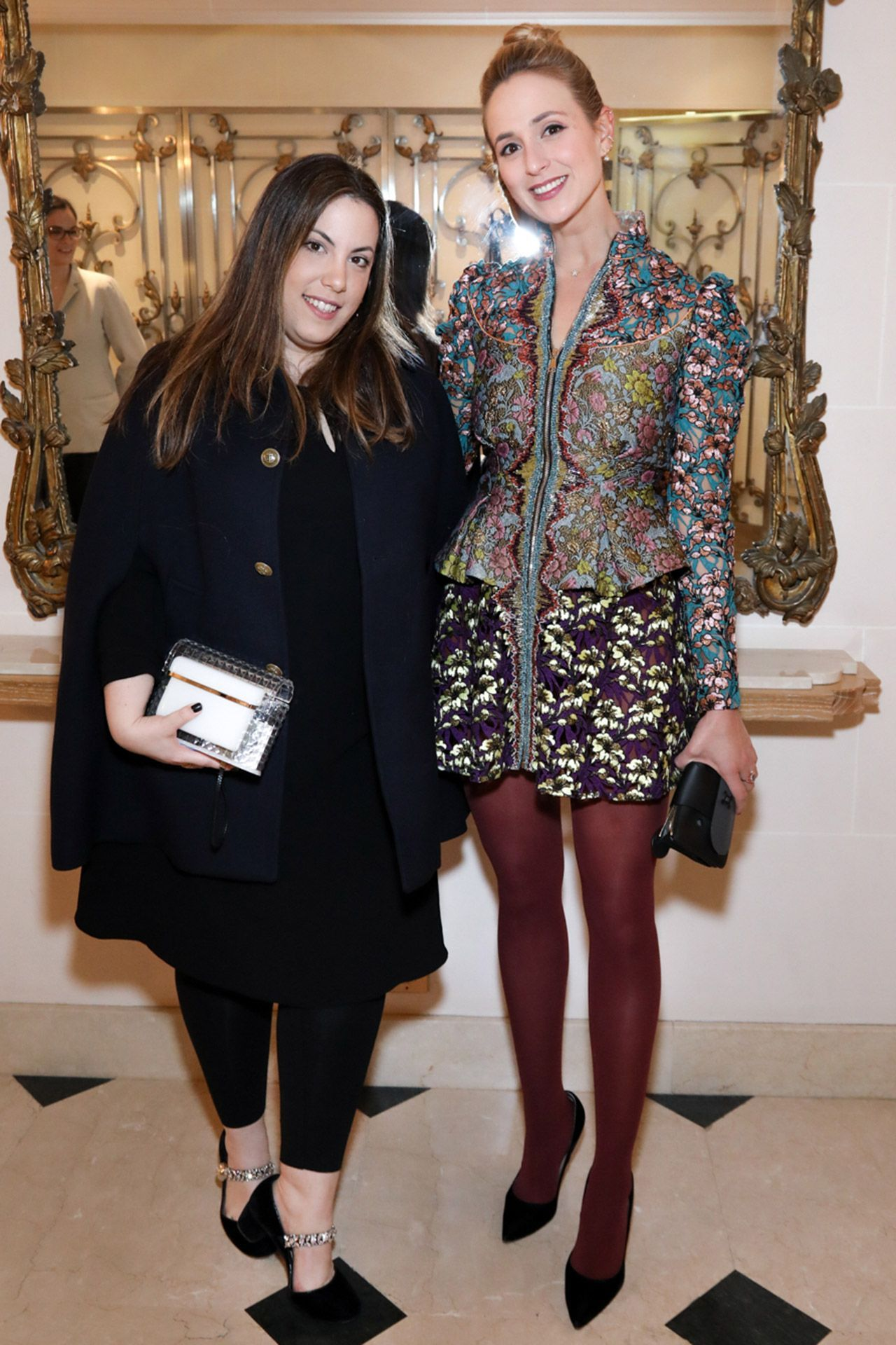 Mary Katrantzou and Elisabeth von Thurn und Taxis - March 6 2017