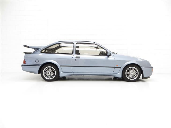 Classic One Of 52 Moonstone Blue Ford Sierra Rs500 Cosw For