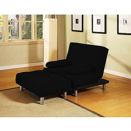 Atherton Home Manhattan Convertible Chair And Ottoman