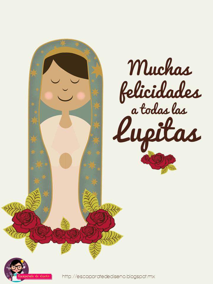 Virgen De Guadalupe 12 De Diciembre Felicitaciones Para Las Lupitas Http Escaparatede Virgen De Guadalupe Saludos De Feliz Cumpleanos Imagen Feliz Cumpleanos