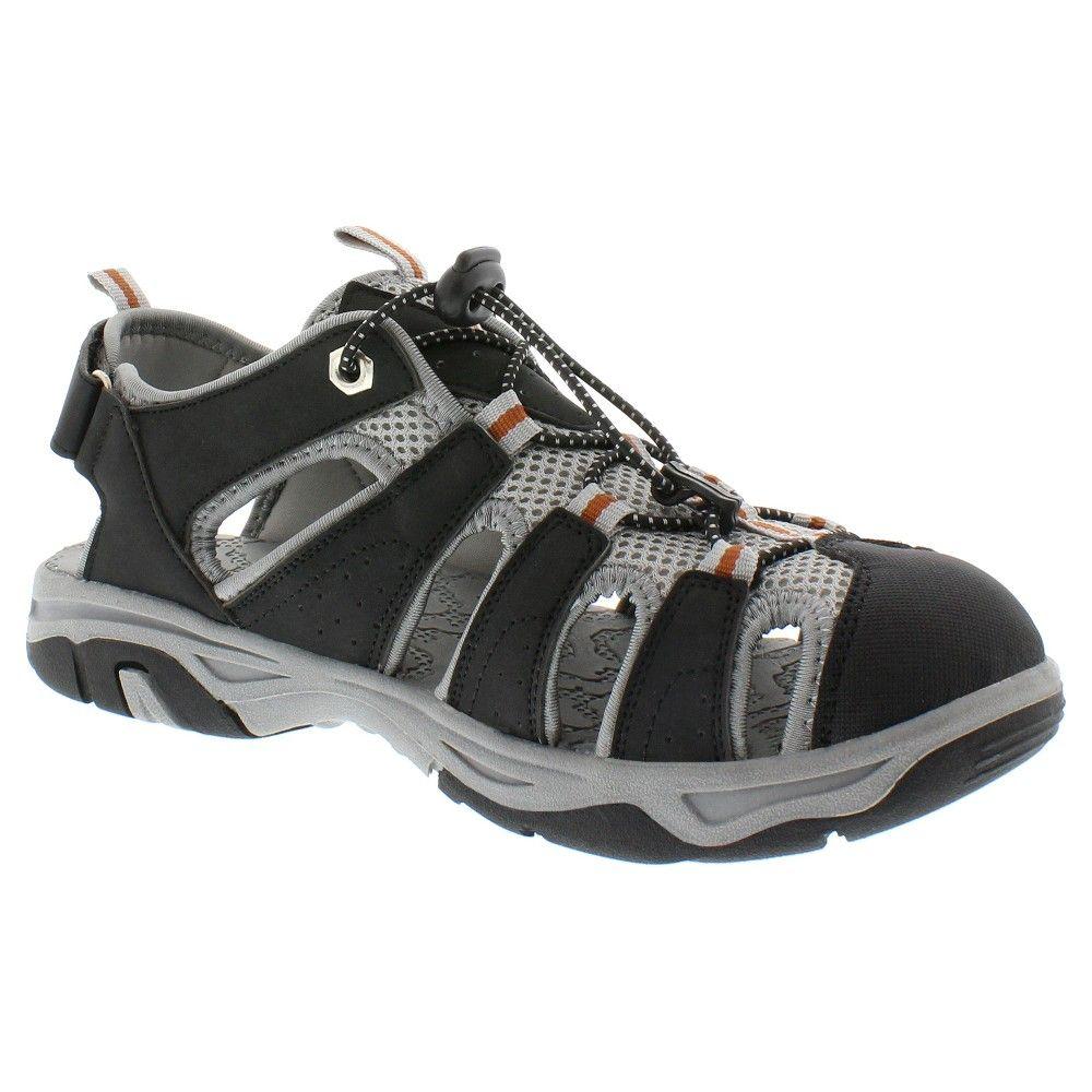0ec48424f711 Itasca Men s Hiking Sandals - Black 12